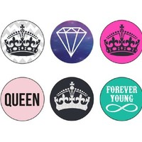 Crown Home Buttons - Ankit