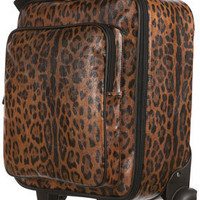 New Leopard Trolley - Bags &amp; Purses - Accessories - Topshop USA