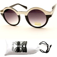V130-vp Style Vault(TM) Round Metal Top Sunglasses