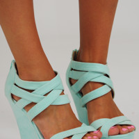 She's All That Wedges: Mint