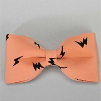 Peach Hair Bow