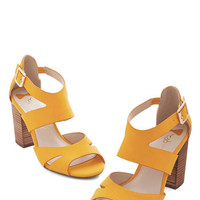 Soak in the Sunshine Heel