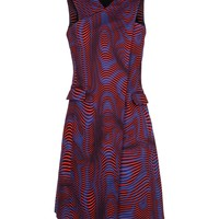 Opening Ceremony Graphic Print Dress - Sleeveless Dress - ShopBAZAAR