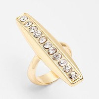 Panacea 'Linear' Crystal Ring | Nordstrom