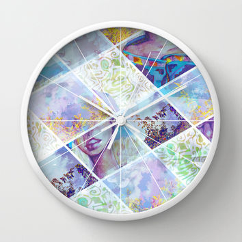 Looking for Signs Wall Clock by Ben Geiger