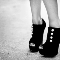 black and white, fashion, shoes - inspiring picture