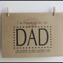 Father&#x27;s Day Card I Am Blessed To Call by DiannesCreativePlace