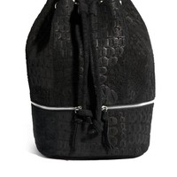 ASOS | ASOS Leather Backpack In Embossed Croc at ASOS