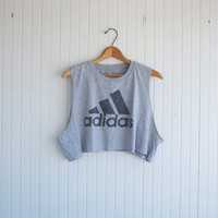 Retro Adidas Crop Top - S/M