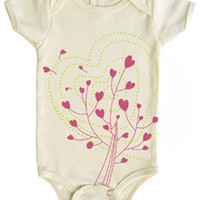 Tomat Kids Organic Onesuit Hearts - Pop! Gift Boutique