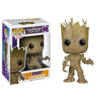 Funko POP! Guardians of the Galaxy Movie - Vinyl Bobble - GROOT (Pre-Order ships July): BBToyStore.com - Toys, Plush, Trading Cards, Action Figures & Games online retail store shop sale