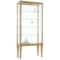 Arteriors Home - Daphne Glass  Natural Limed Oak Display Cabinet - 5195
