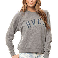 The Department RVCA Sweatshirt in Grey Noise