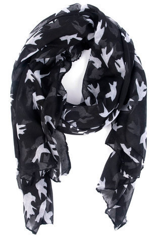 Animal Style Scarf in Bird :: tobi