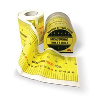 Measuring Tape Toilet Roll | spinninghat.com