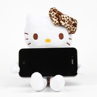 Hello Kitty Cell Phone Stand: Leopard