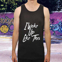 i woke for men,women,tank top