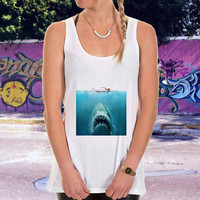 jaws for men,women,tank top