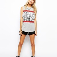 ASOS Tank Top with Run Dmc Print