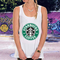 starbuck logo for men,women,tank top
