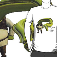 Check yourself before you Shrek yourself Unisex T-Shirt