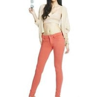 Fabulous Luxe Leggings in Coral