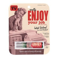Enjoy Your Job Breath Spray - if only it worked!!!