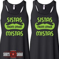 Women's Best Friends Shirt Tanks - Tank Tops Hipster Sistas From Other Mistas Shirts Tops