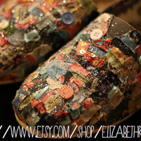 Custom TOMs shoes Made to Order by ShopSaveYourScissors on Etsy