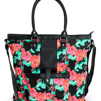 Empyre Floral Tribal Tote Bag