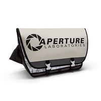 Aperture Laboratories 80's Logo Messenger Bag