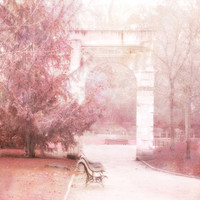 Paris Photography, Dreamy Paris Pink Art Prints, Paris Parc Monceau Prints, Romantic Paris Park, Paris Pink Decor, Paris Fine Art Photo 8x10
