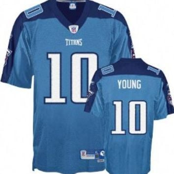 Vince Young Tennessee Titans Light Blue PREMIER NFL YOUTH Jersey
