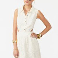 Olie Crochet Dress in What's New at Nasty Gal