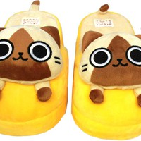 Monster Hunter Slippers - Airou (YELLOW)
