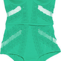 Zimmermann | Whisper underwired swimsuit | NET-A-PORTER.COM