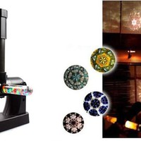 DIY Assemble Kaleidoscope Projector