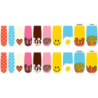 GUMMI 100% Real Nail Polish Wraps: Happy