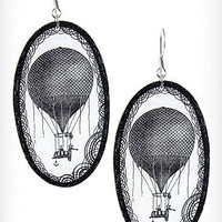 Up in the Air Balloon Earrings | PLASTICLAND