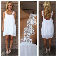 White Sunrise Dress