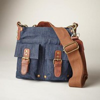 Denim World Explorer Bag
