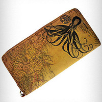 Victorian Octopus Clutch Wallet | PLASTICLAND