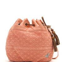Roxy Live It Up Crochet Bucket Bag - Womens Handbags - B