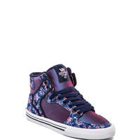 Supra Vaider Sneaker in Iridescent Purple/Blue