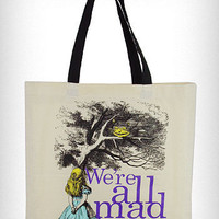 Alice in Wonderland Tote Bag | PLASTICLAND