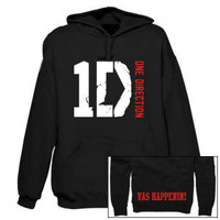 One Direction Vas Happenin Black Hoodie