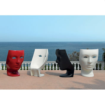 Driade Store - Fabio Novembre - Glossy Red Nemo Chair Outdoor | Panik Design
