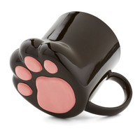 ModCloth Cats Pawsitively Bemused Mug