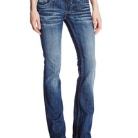 Vigoss Women's Boot Cut New York Flap Jean