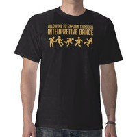 Interpretive Dance - Dark Tee